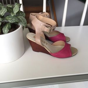 Two Tone Report Wedges